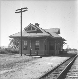 Country Rail-road station - Chapel-Hill Tenn