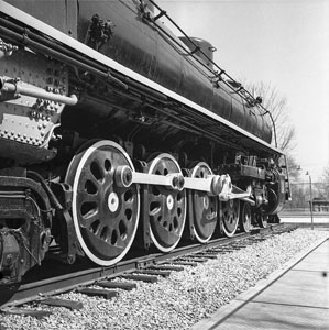 Old engine Centennial Park - N.C.S.T.L. - Last one before change to diesel - Rolleflex